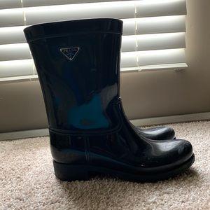 Prada Rainboots Size 40